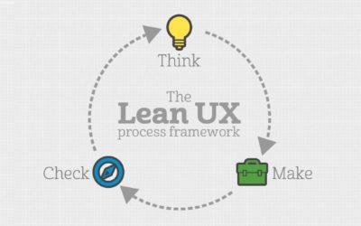 Lean UX denken en werken naar een werkend prototype